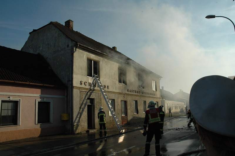 Brand in Diendorf