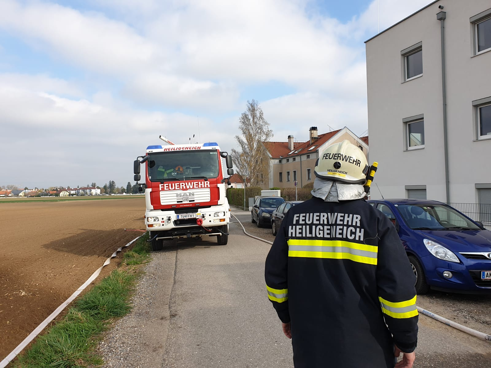 Brand in Tiefgarage (Übung)